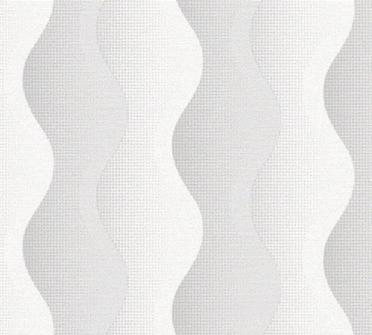 DEKOROS – GRİ 3 BOYUTLU DUVAR KAĞITLARI: modern tarz , Modern