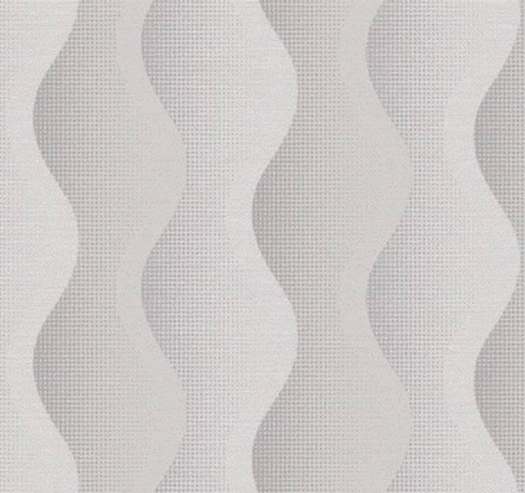 DEKOROS – GRİ 3 BOYUTLU DUVAR KAĞITLARI: minimalist tarz , Minimalist