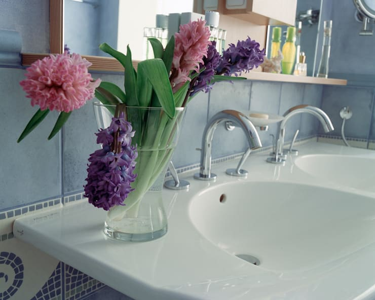 Квартира на Патриарших: Ванная комната в . Автор – ANIMA