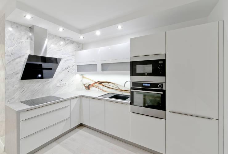 IV Realizacja kuchenna na Osiedlu Apartamenty Generalska w Opolu: styl , w kategorii Kuchnia zaprojektowany przez Meble Ideal