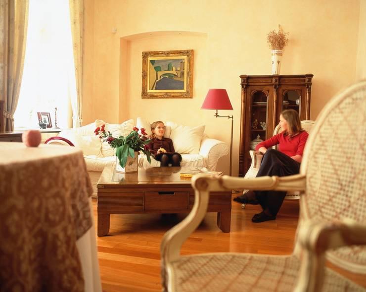 Квартира на Патриарших: Гостиная в . Автор – ANIMA