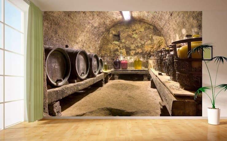 DEKOROS – MEKANA DERİNLİK VEREN POSTER DUVAR KAĞITLARI: modern tarz Duvar & Zemin
