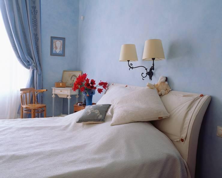 Квартира на Патриарших: Спальни в . Автор – ANIMA