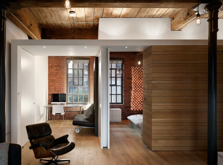 Albert Mill: minimalistic Study/office by Donald Architecture
