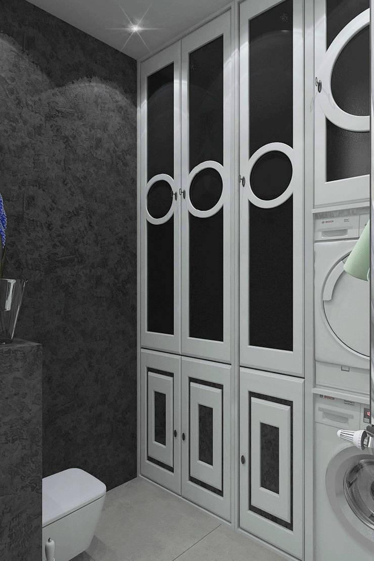 Коттедж г.Полевской: Ванные комнаты в . Автор – Частный дизайнер и декоратор Девятайкина Софья