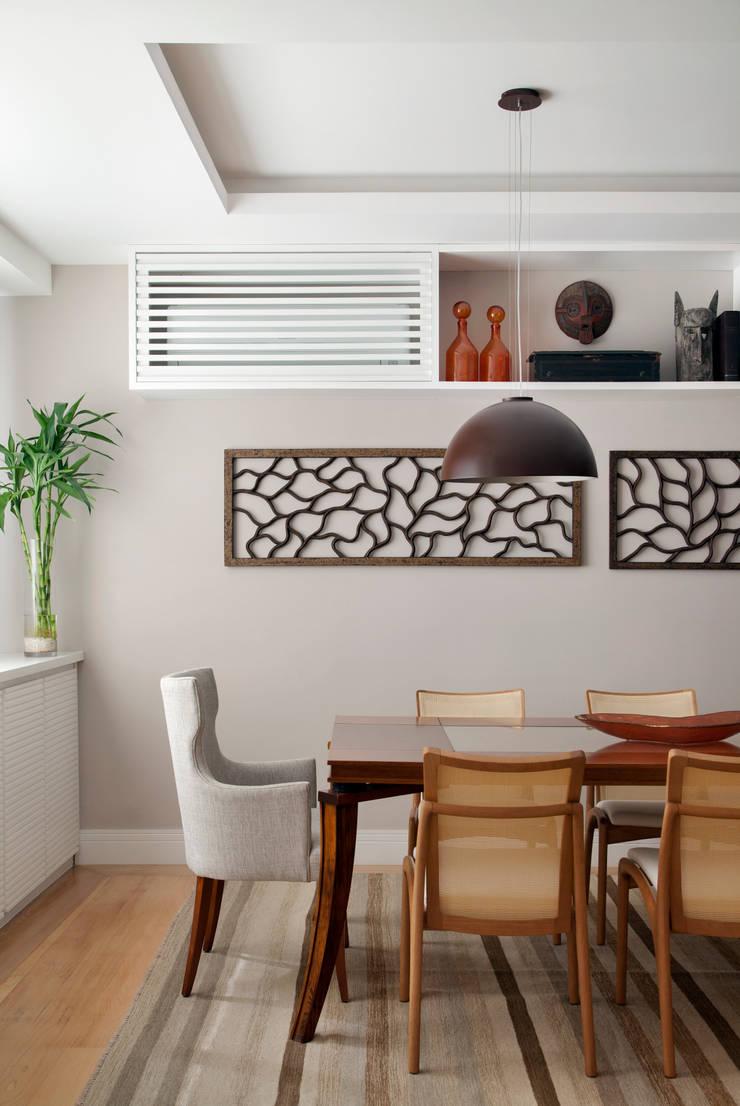 Sala de estar Salas de jantar ecléticas por Da.Hora Arquitetura Eclético