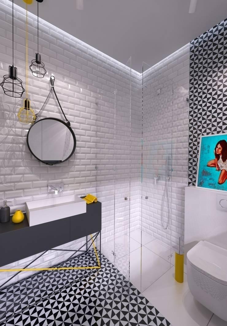 ŁAZIENKA: styl , w kategorii Łazienka zaprojektowany przez The Vibe