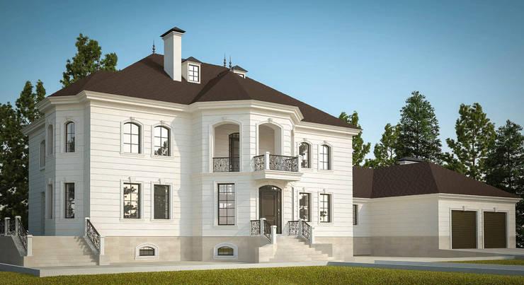 Частный дом на 800м2:  в . Автор – Архитектурная студия