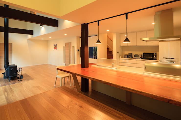 N HOUSE: kobbottoが手掛けたキッチンです。,