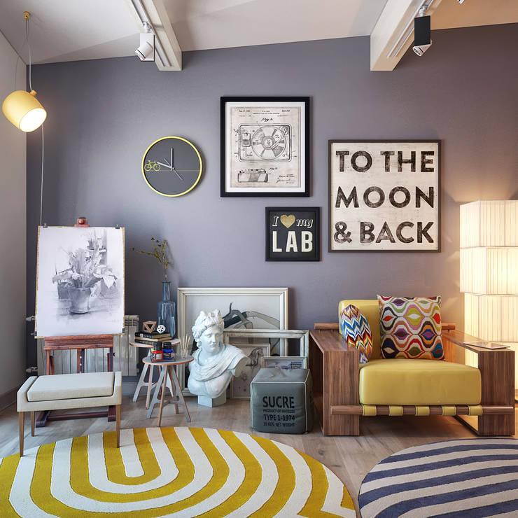 Sweet Home Design의  서재 & 사무실