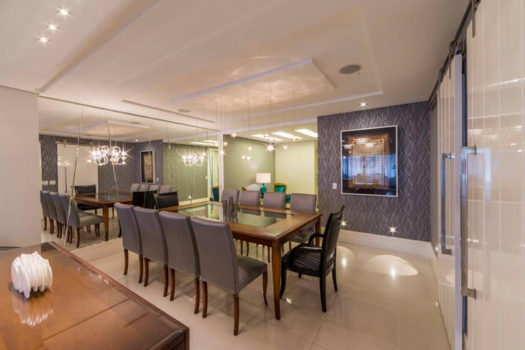 Sala de Jantar: Salas de jantar  por Enzo Sobocinski Arquitetura & Interiores