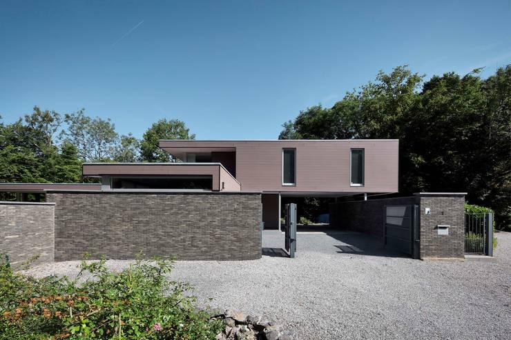 Projekty,  Domy zaprojektowane przez atelier d'architecture FORMa*