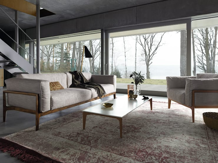 eclectic Living room by Zimmermanns Kreatives Wohnen