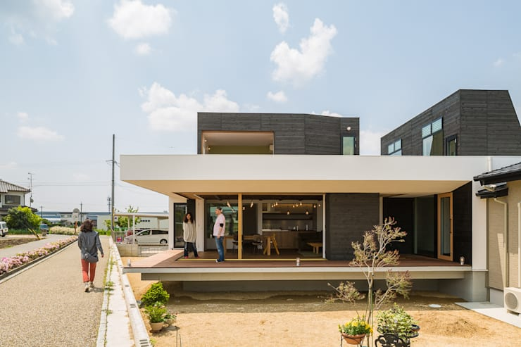 Casas industriais por murase mitsuru atelier