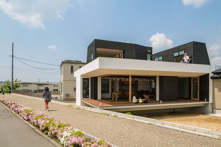 ふたつの芽: murase mitsuru atelierが手掛けた家です。