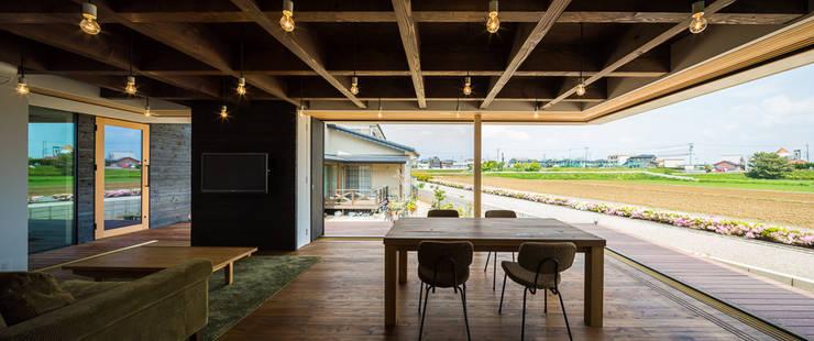 Dining room by murase mitsuru atelier, Industrial