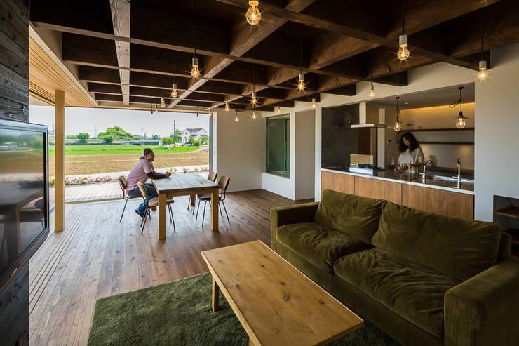 Living room by murase mitsuru atelier, Industrial