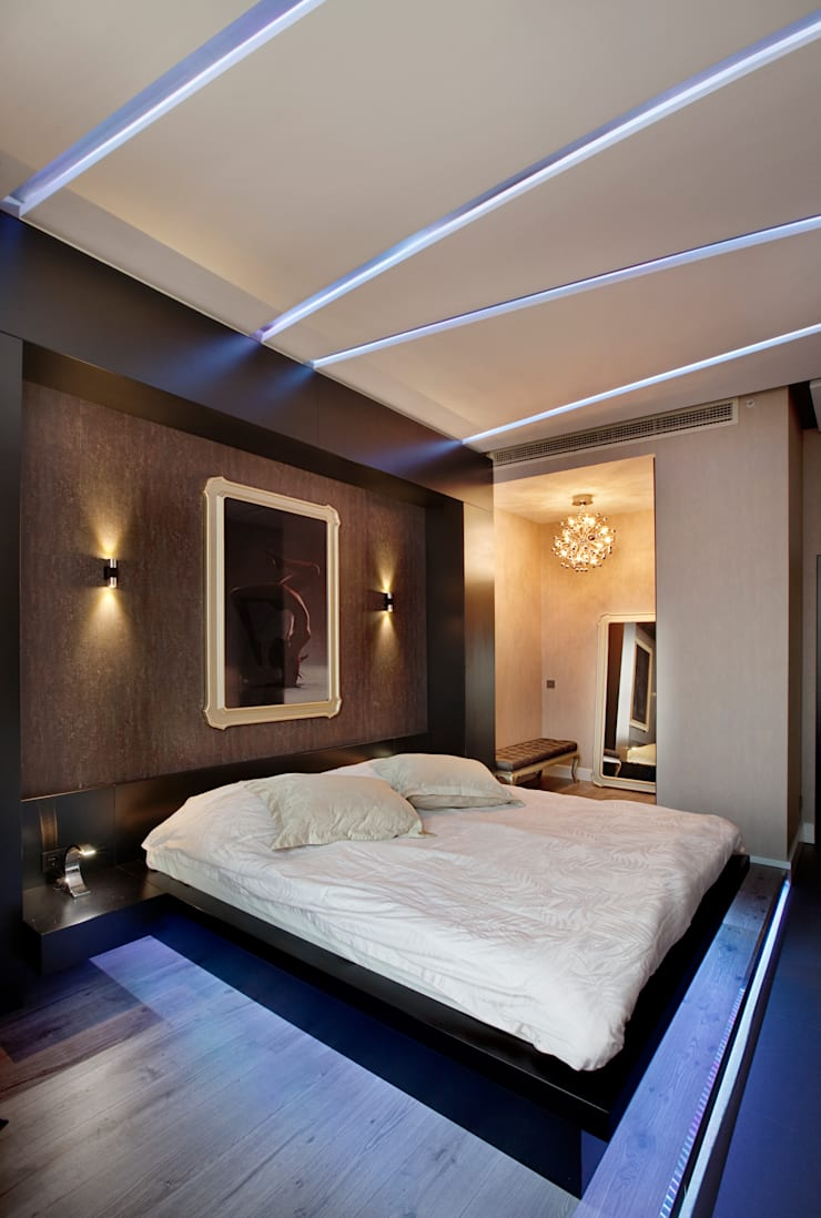 Modern style bedroom by Udesign Architecture Modern