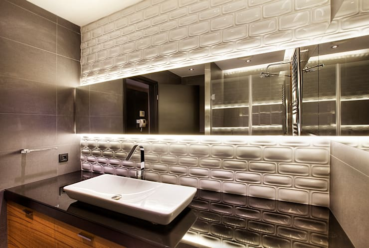 Modern bathroom by Udesign Architecture Modern