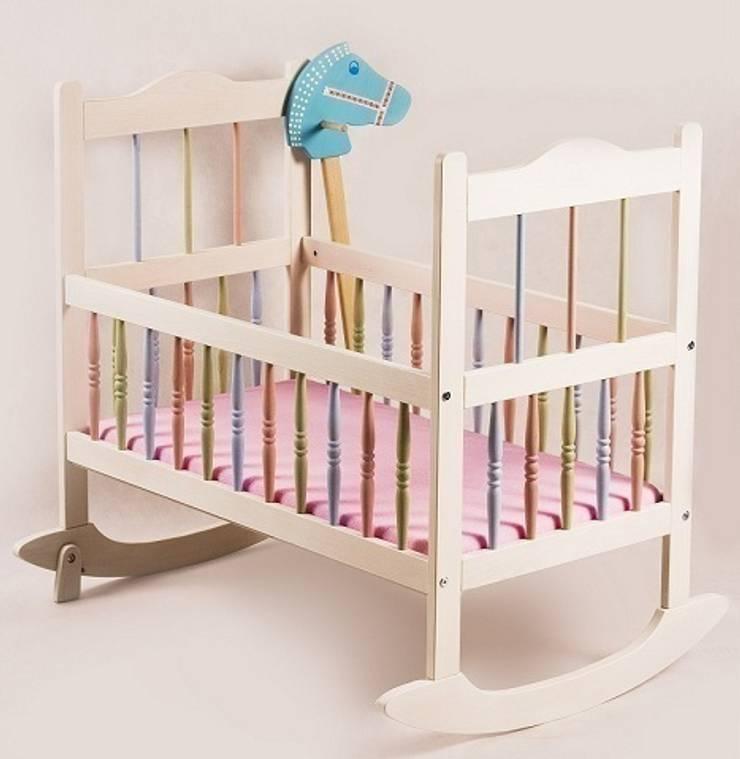 Kołyska pastelowa : styl , w kategorii Pokój dziecięcy zaprojektowany przez lululaj,