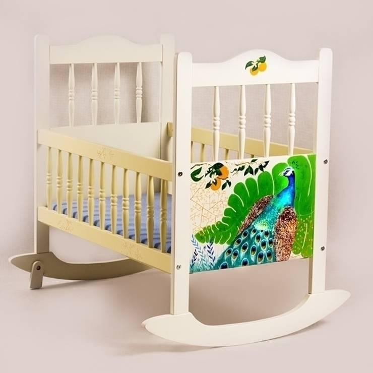 Kołyski przykłady realizacji : styl , w kategorii Pokój dziecięcy zaprojektowany przez lululaj,
