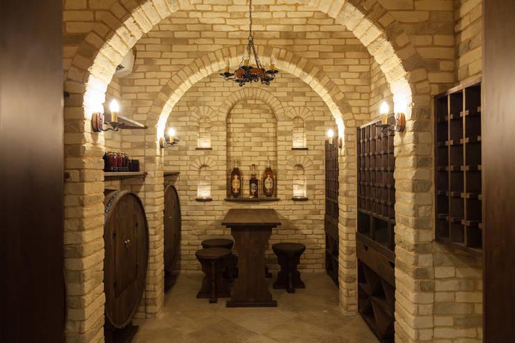 Wine cellar by дизайн-студия ZE-MOOV