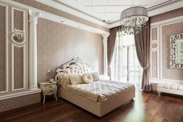 Bedroom by дизайн-студия ZE-MOOV