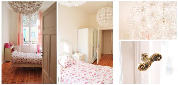PRIVATE APARTAMENT 02: styl , w kategorii Sypialnia zaprojektowany przez PUFF