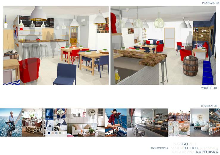 CAFE / RESTAURANT / CLUB 01: styl , w kategorii  zaprojektowany przez PUFF