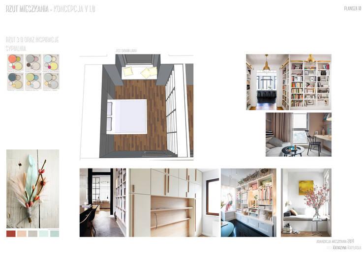 PRIVATE APARTAMENT 06: styl , w kategorii  zaprojektowany przez PUFF
