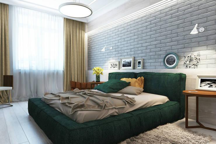 Квартира на улице Песчаная. Москва: Спальни в . Автор – Rustem Urazmetov