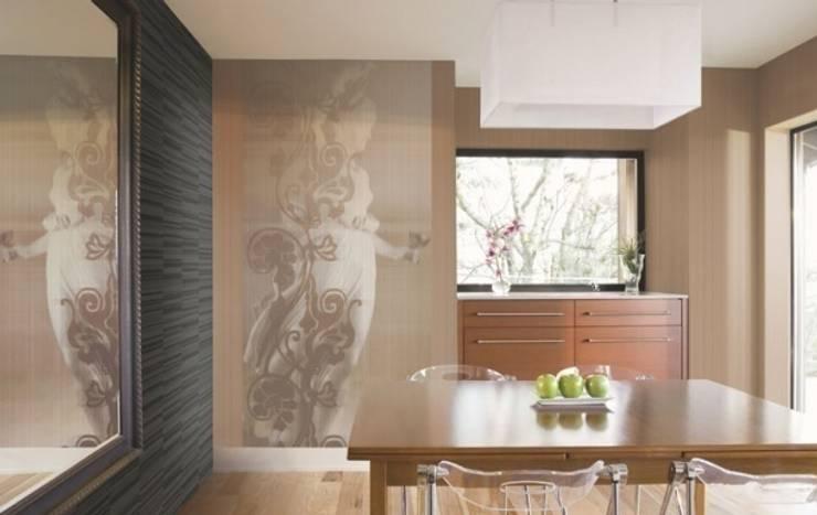 4 Duvar İthal Duvar Kağıtları & Parke – Uygulamalar:  tarz Mutfak