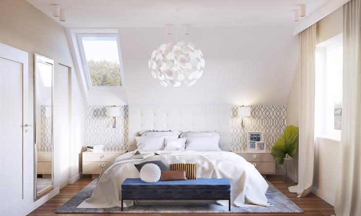 Dormitorios de estilo  de Finchstudio