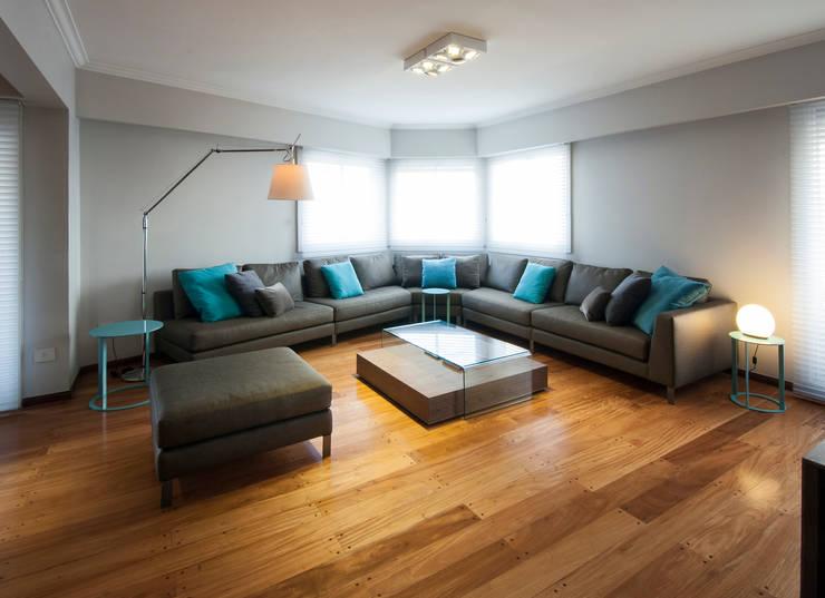 Wohnzimmer von Estudio Sespede Arquitectos