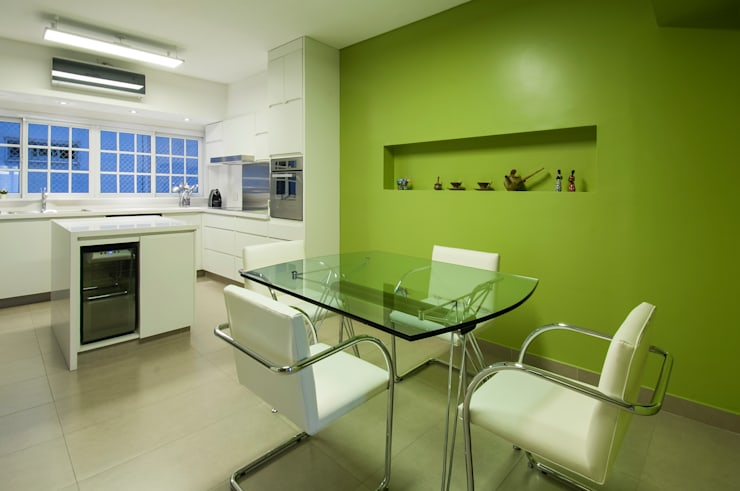 Decoración en Caballito: Comedores de estilo  por Estudio Sespede Arquitectos
