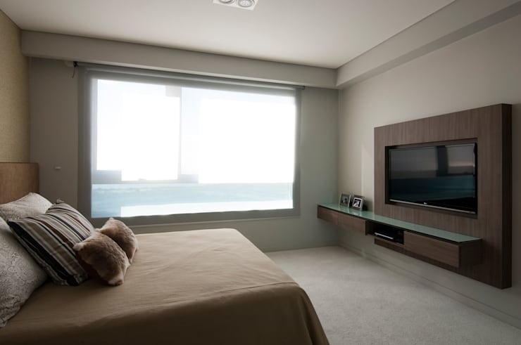 modern Bedroom by Estudio Sespede Arquitectos
