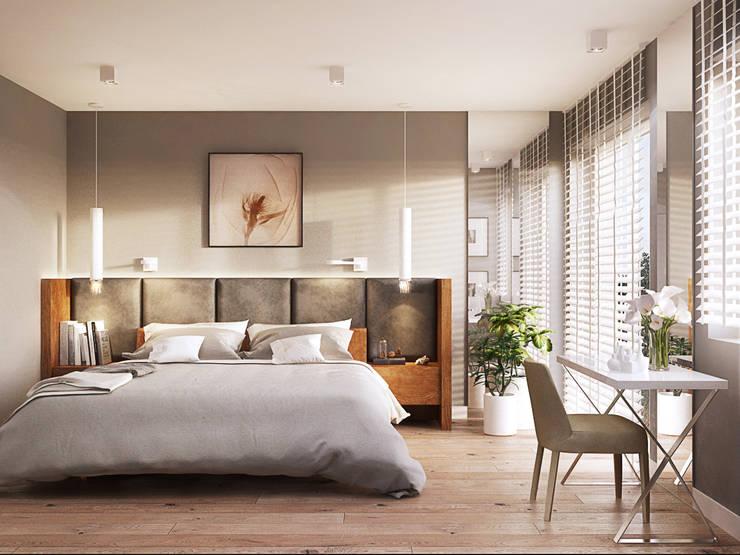 Dom w Holandii: styl , w kategorii Sypialnia zaprojektowany przez Finchstudio
