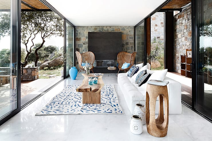 Living room by Engel & Völkers Bodrum