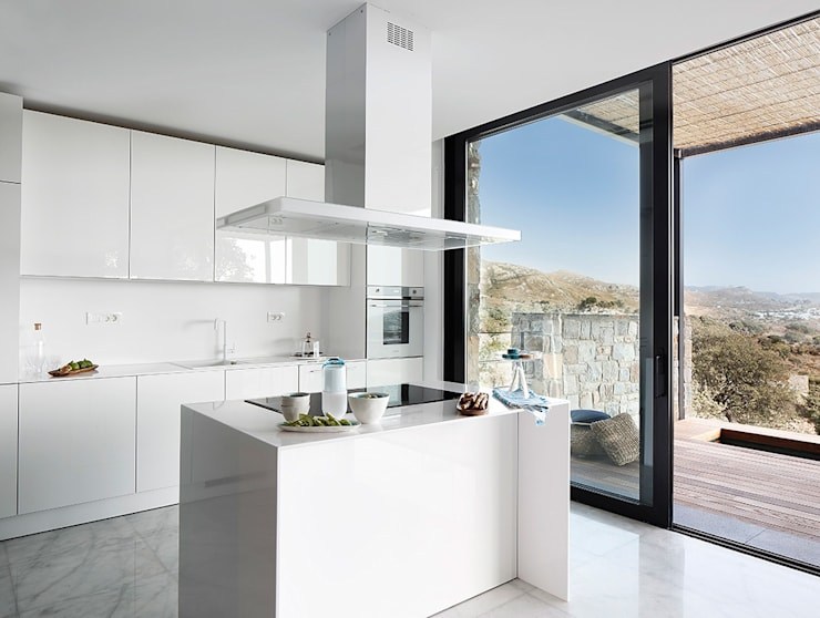 modern Kitchen by Engel & Völkers Bodrum