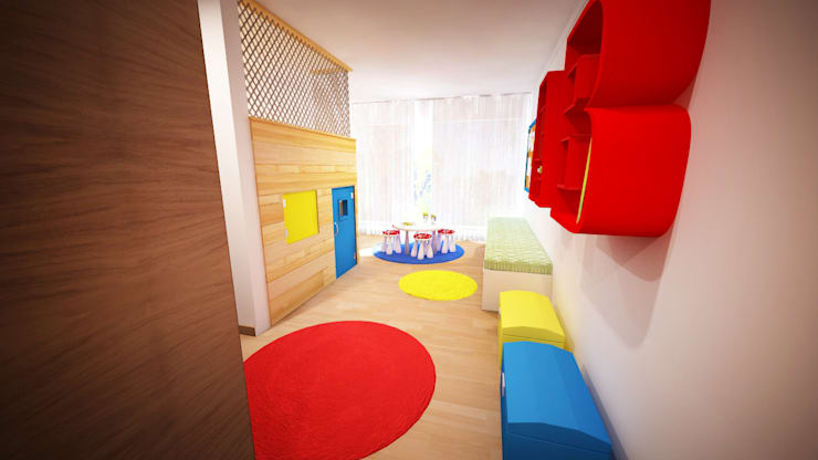 Quarto de Brincar - Projeto 3D:   por Ângela Pinheiro Home Design