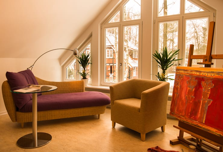 Рабочие кабинеты в . Автор – Haacke Haus GmbH Co. KG