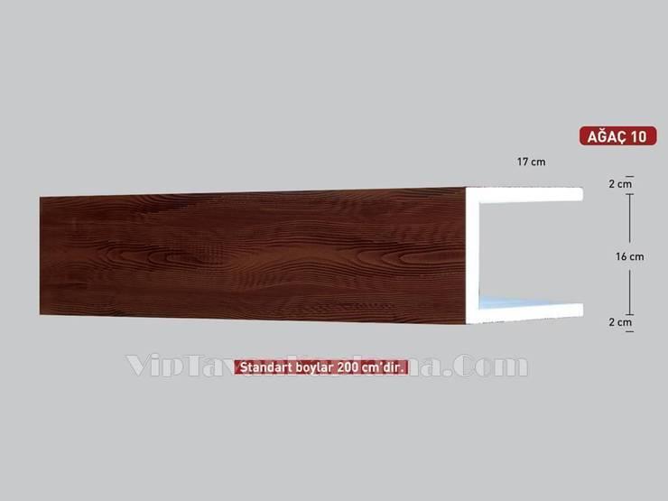 Vip Tavan Kaplama – Model 10 Ahşap Görünümlü Eps Tavan Profili:  tarz , Klasik