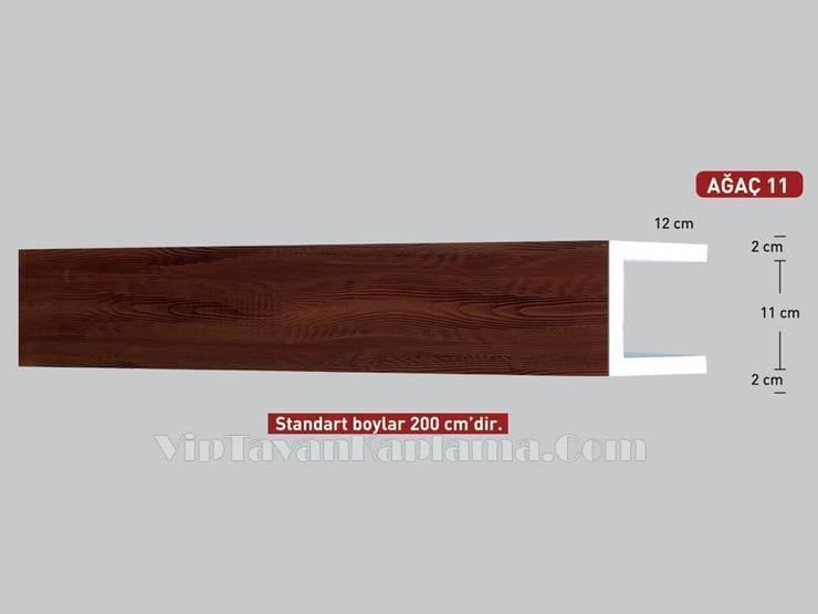 Vip Tavan Kaplama – Model 11 Ahşap Desenli Eps Tavan Profili:  tarz , Klasik