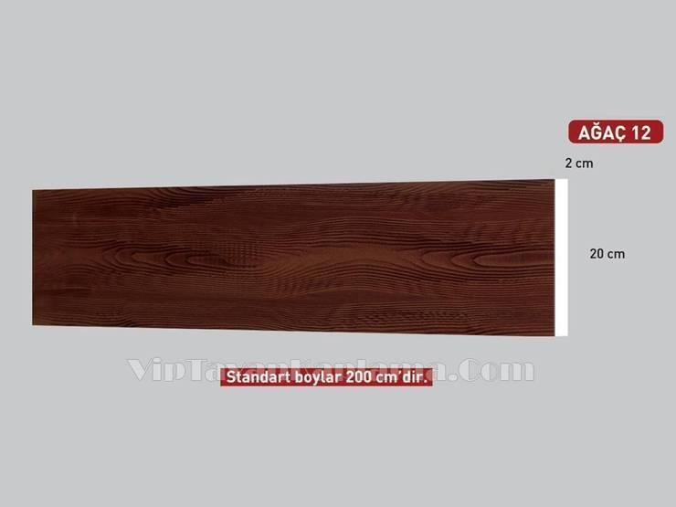 Vip Tavan Kaplama – Model 12 Ahşap Görünümlü Eps Tavan Profili:  tarz , Kırsal/Country