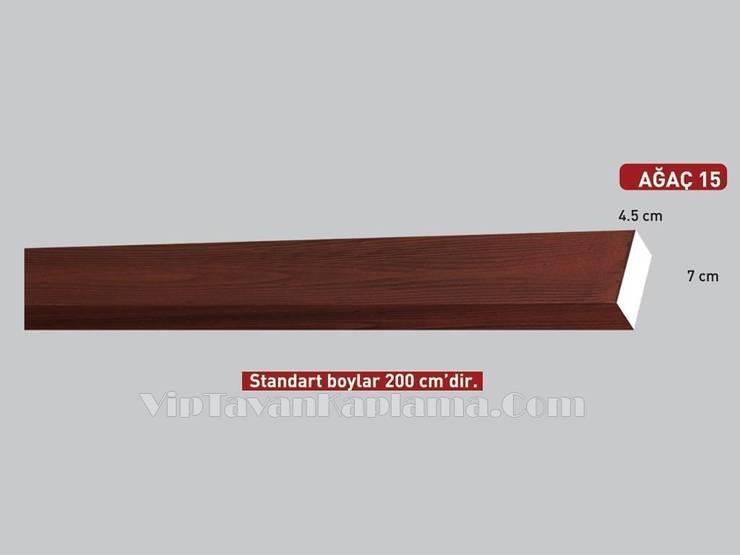 Vip Tavan Kaplama – Model 15 Ahşap Görünümlü Eps Tavan Kaplaması:  tarz , Klasik