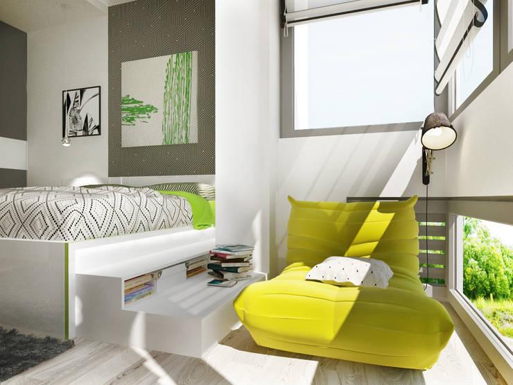 2-х комнатная квартира в Подмосковье : Спальни в . Автор – Rustem Urazmetov