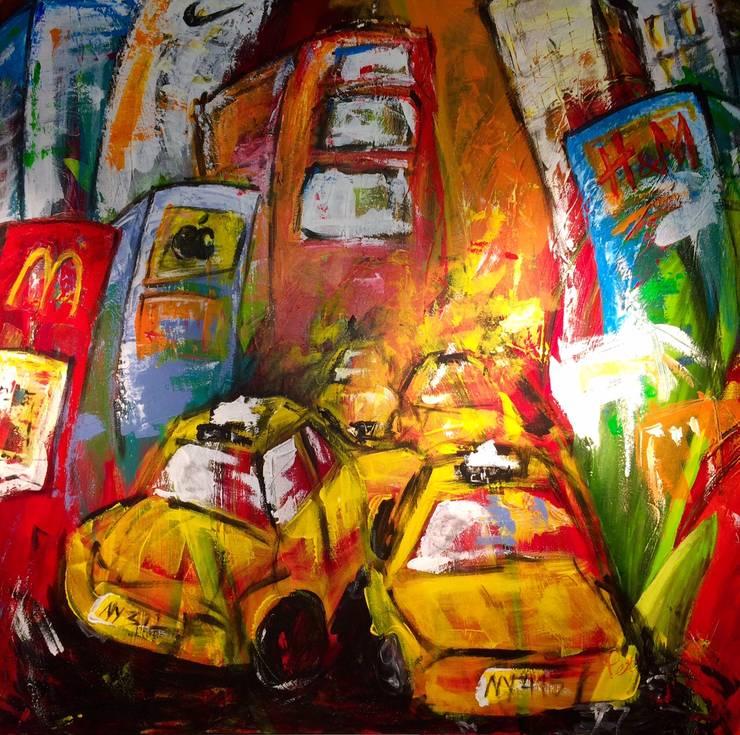 Acrylverfschilderijen:  Kunst  door Petra4art