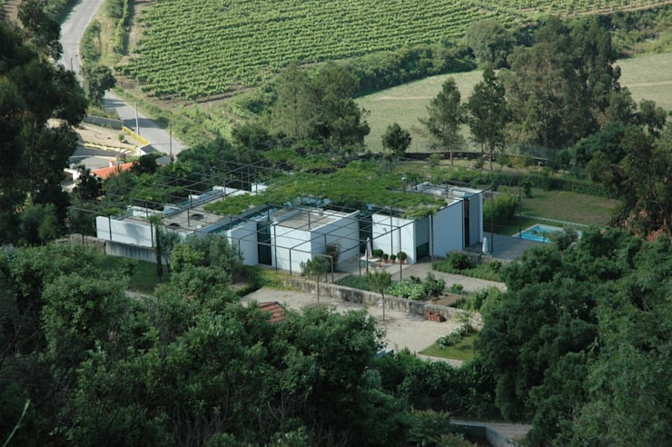 Casa I: Casas  por A. BURMESTER ARQUITECTOS