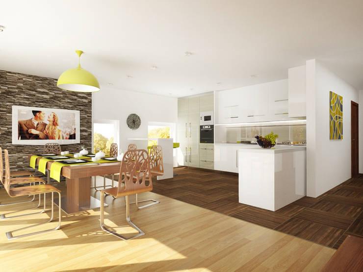 Дизайн загородного дома в Норвегии: Кухни в . Автор – Rustem Urazmetov,