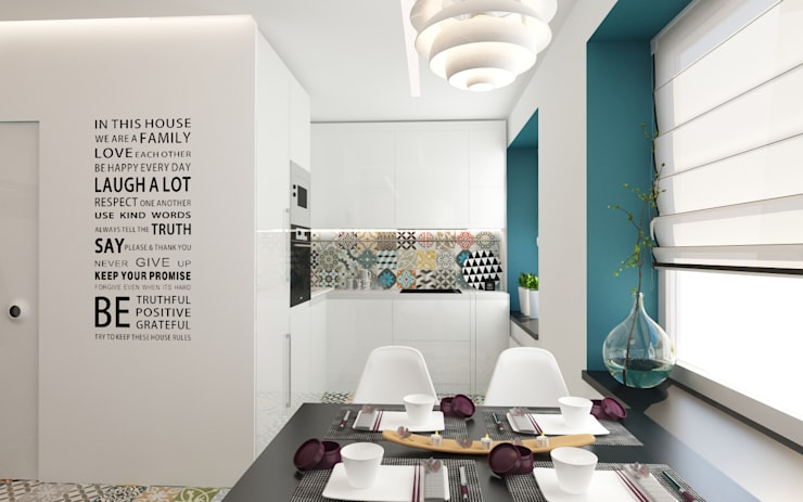 Квартира-студия в Москве: Кухни в . Автор – Rustem Urazmetov, Минимализм